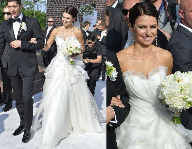 Zdjęcie numer 4 w galerii - Grosicki pokazał zdjęcia ze ślubu. Suknia panny młodej ładna, ale JEJ nie przebiła. To ona miała najpiękniejszą suknię wśród WAGs