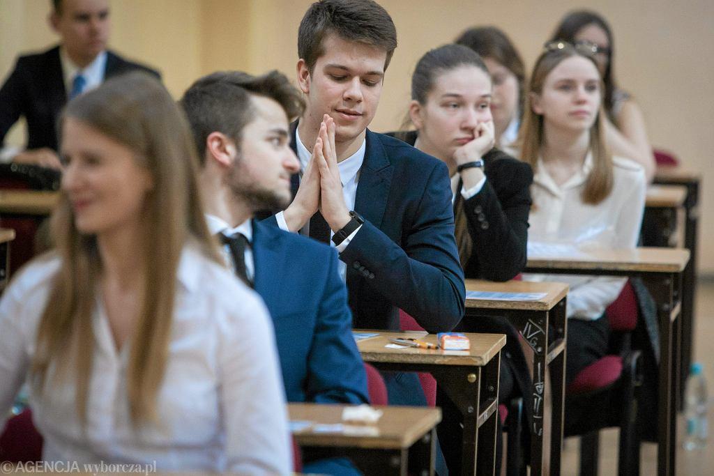 Matura 2018. Pisemny egzamin z geografii odbędzie się 14 maja.