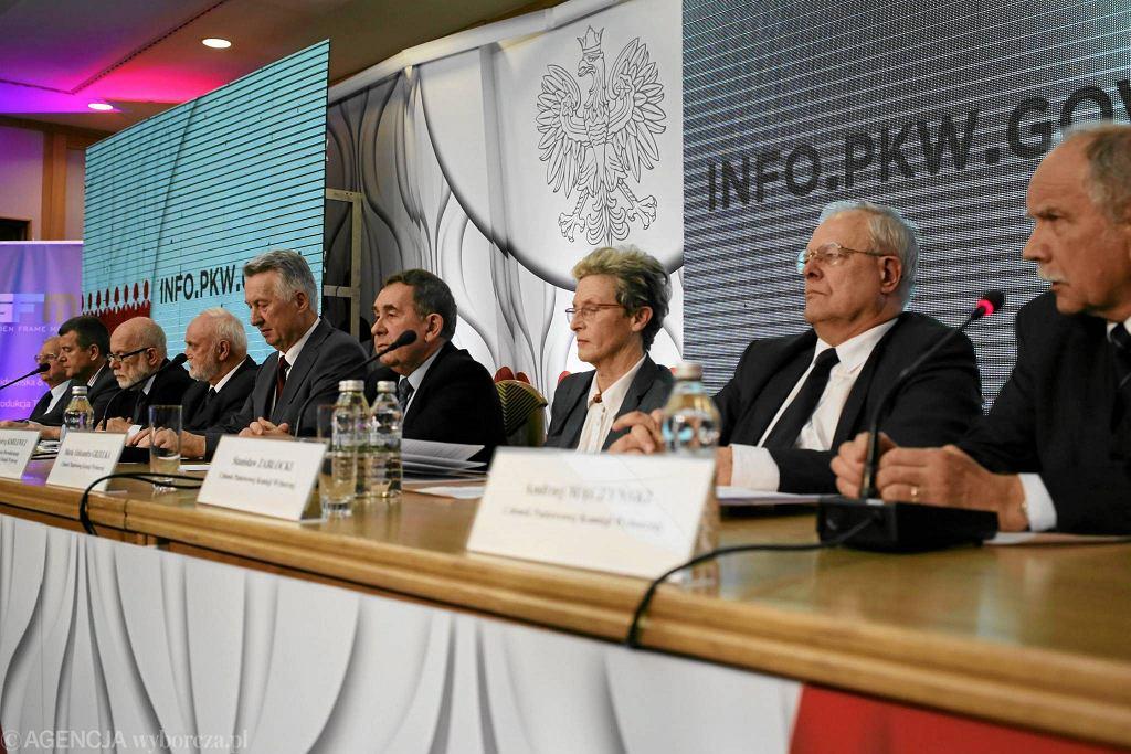 Członkowie Państwowej Komisji Wyborczej