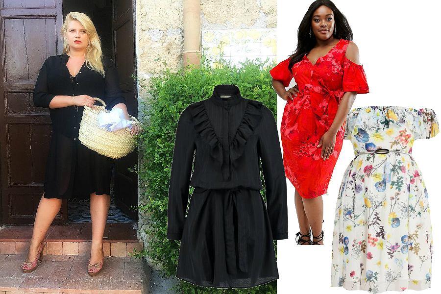 Letnie sukienki - sylwetka w stylu Elżbiety Romanowskiej