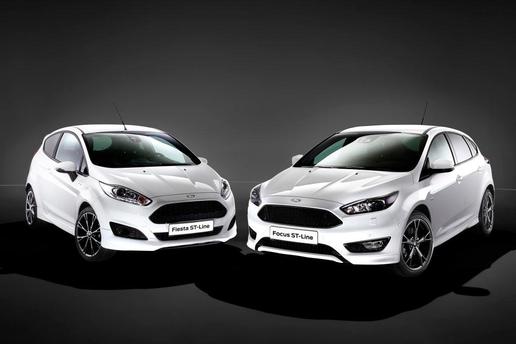 Ford Fiesta i Focus ST-Line