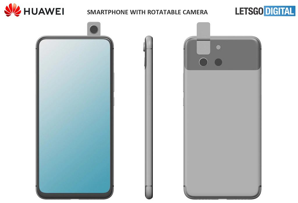Patent nowego smartfona Huaweia