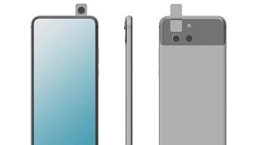 Huawei zarejestrowałprojekty nowych smartfonów. Z przodu tylko ekran, a aparat będzie się obracał