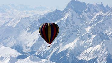Balonem nad Himalajami/ for. ifonly.com