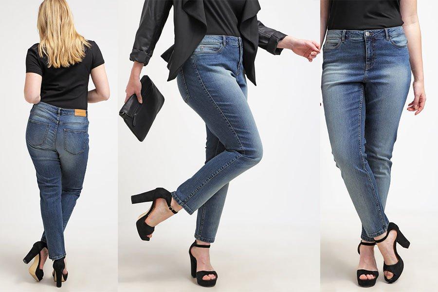 fefadafa Jeansy plus size na różne okazje - gotowe stylizacje
