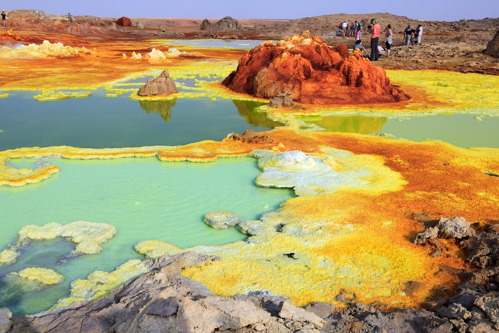 Pustynia Danakilska, Erytrea