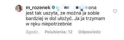 Komentarz Małgorzaty Rozenek