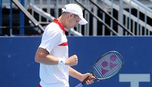 Hubert Hurkacz pokonał Andy'ego Murray'a i jest w półfinale turnieju w Metzu