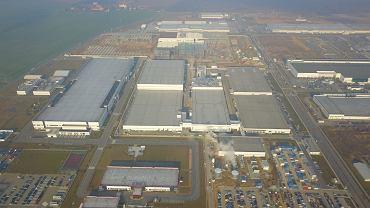 Fabryki koncernu LG w Biskupicach Podgórnych (gmina Kobierzyce)