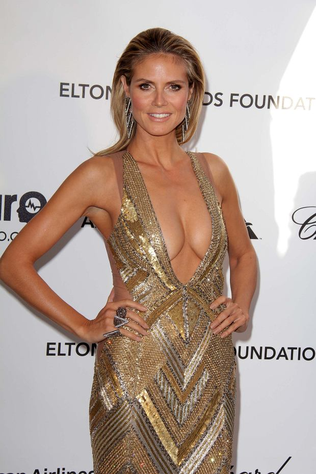Heidi Klum at the Elton John Aids Foundation 21st Academy Awards Viewing Party, West Hollywood Park, West Hollywood, CA 02-24-13 David Edwards/DailyCeleb.com 818-249-4998