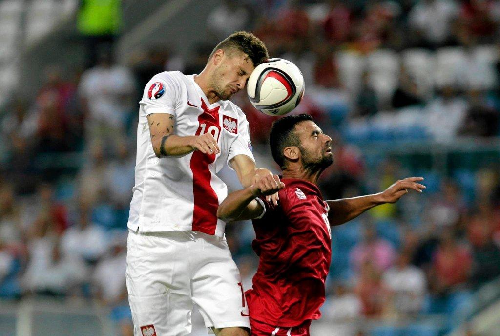 Mateusz Klich grał w reprezentacji Polski, ale Adam Nawałka na razie go nie powołuje