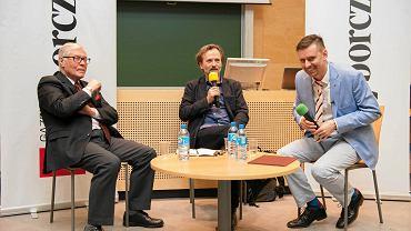 Prof. Włodzimierz Jarmuntowicz, Włodzimierz Nowak i dr Paweł Tabakow