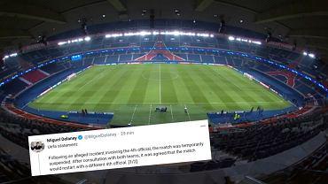 Stanowisko UEFA po skandalu w Paryżu