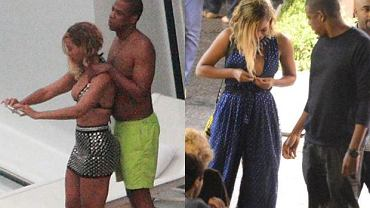 Jay Z, Beyonce.