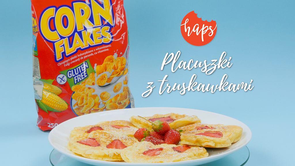 Haps placuszki z truskawkami Nestle