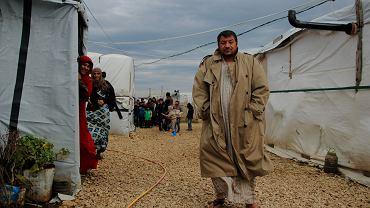 Khaled, un refugiat sirian în vârstă de 29 de ani
