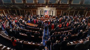 Pierwsze posiedzenie 117. Kongresu USA.