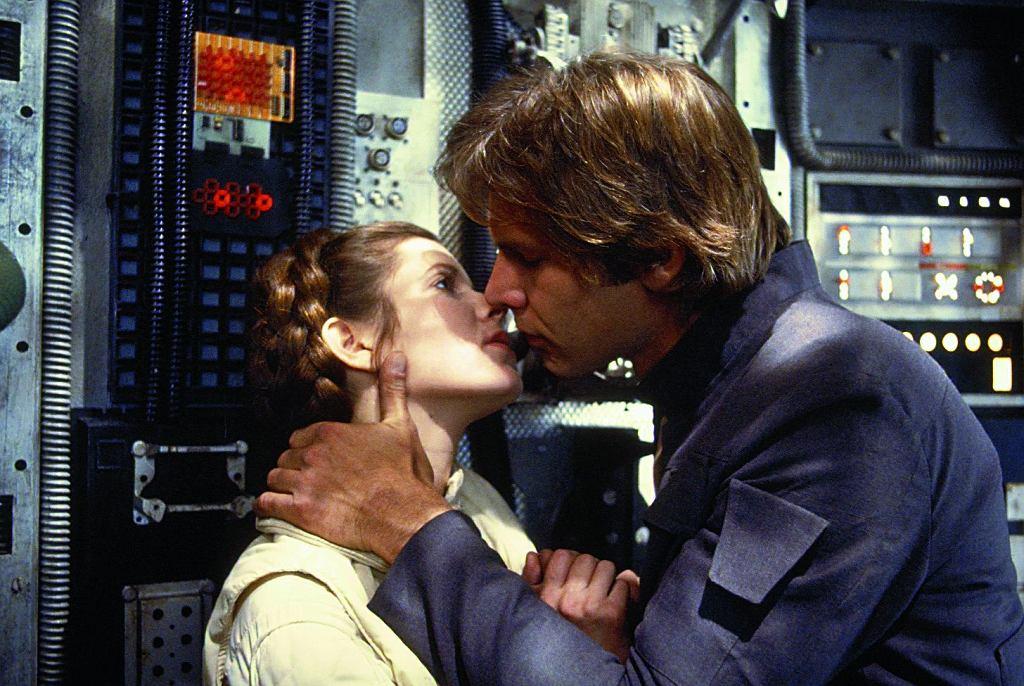 Harrison Ford jako Hans Solo w 'Gwiezdnych wojnach'