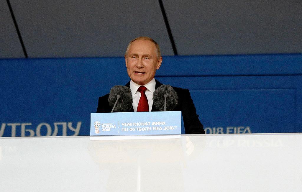 MŚ 2018. Władimir Putin.