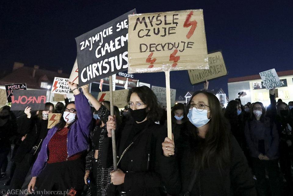 Strajk kobiet - Limanowa