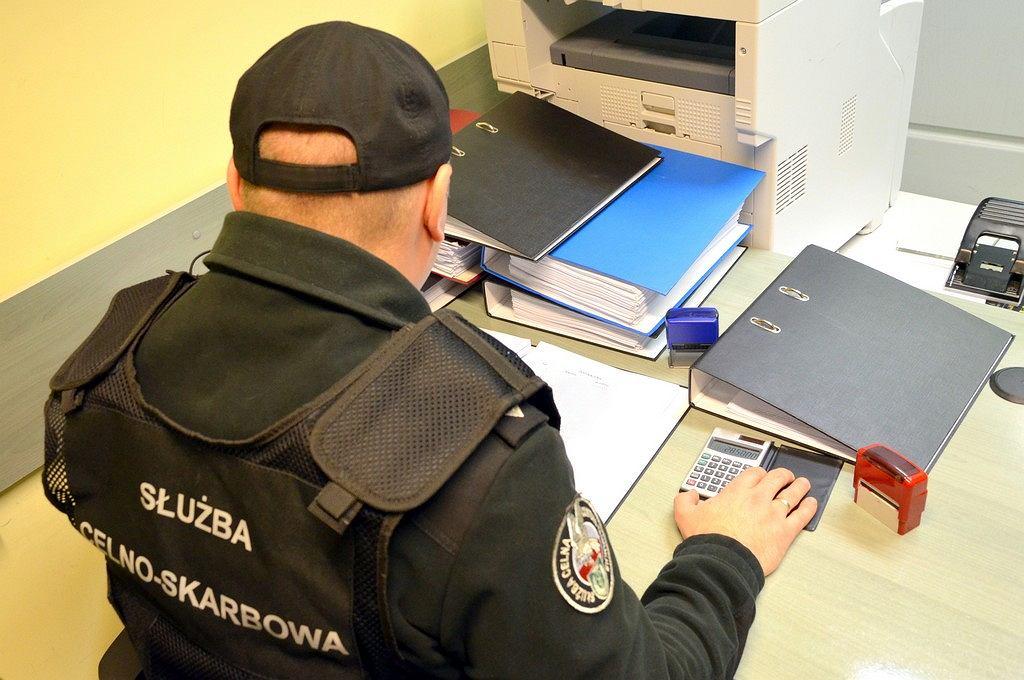 Kontrola podlaskiego oddziału Krajowej Administracji Skarbowej