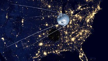 Wysłanie Sputnika w przestrzeń kosmiczną wywołało wyścig zbrojeń. Stworzenie internetu było częścią tego wyścigu