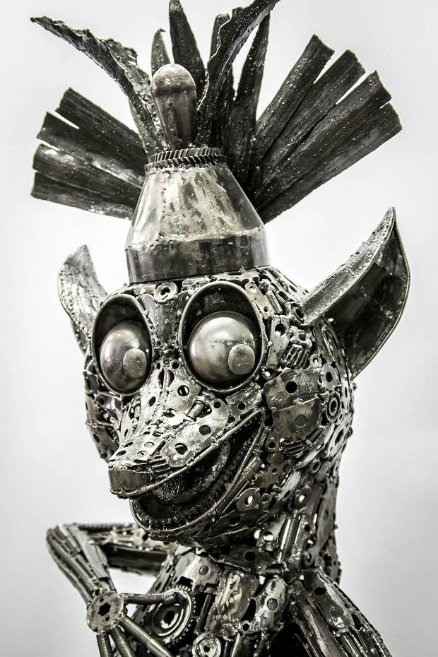 tourist attractions in cracow gallery of steel figures atrakcje turystyczne kraków galleria figur stalowych muzeum figur stalowych museum of steel figures
