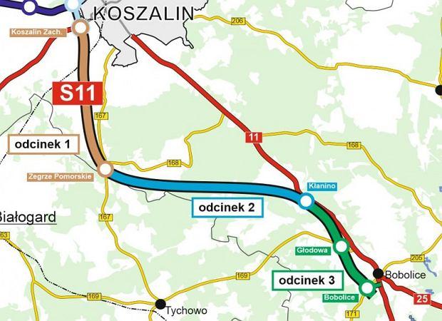 Trasa S11 Zegrze Pomorskie - Kłanino