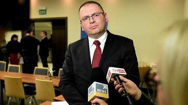 Maciej Nawacki, prezes Sądu Rejonowego w Olsztynie