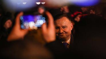 Prezydent Andrzej Duda w Zakliczynie