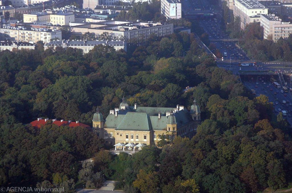 Zamek Ujazdowski - panorama / Fot. Bartosz Bobkowski / AG