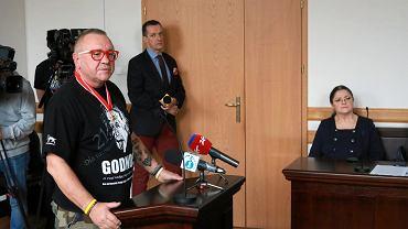 Jerzy Owsiak i Krystyna Pawłowicz (15.11.2018)