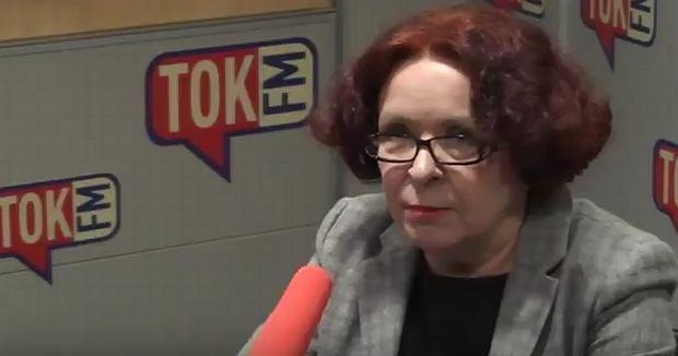 Elżbieta Kruk w 'Poranku Radia TOK FM'