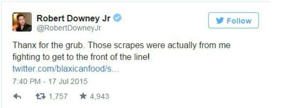 Tweet Roberta Downey Jr.