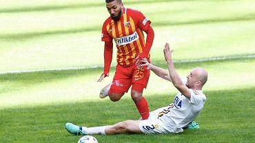 Michał Pazdan (MKE Ankargucu) liga turecka ; brutalny faul na Aaronie Lennonie. Źródło: TWITTER