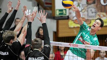 Bartosz Krzysiek w ataku