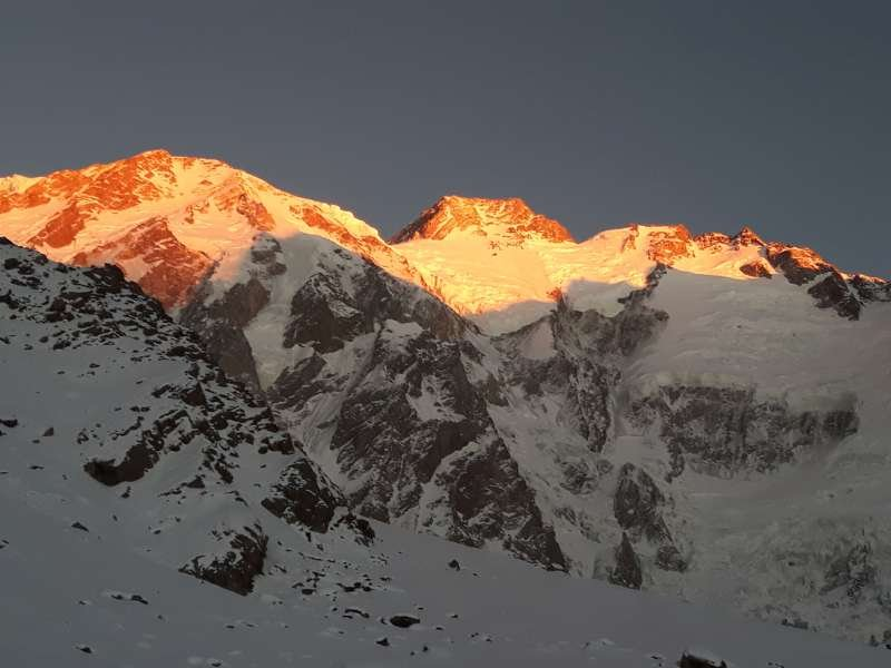 Zachód słońca nad Nanga Parbat