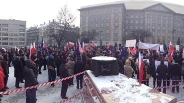 Manifestacja KOD w Katowicach