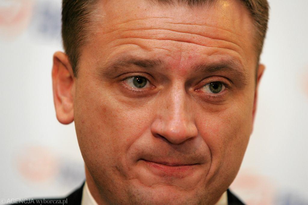 Sławomir Nitras mówił o funduszu odbudowy, a na koniec zdobył się na wizji na prywatny gest