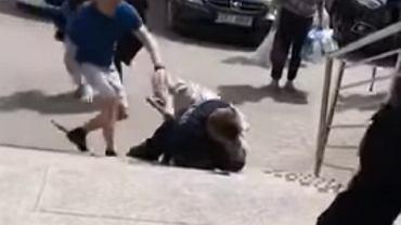 Atak na policjanta w Busku-Zdroju