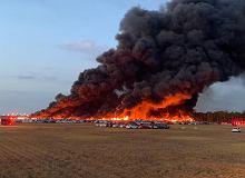 Ogromny pożar w USA. Spłonęło ponad 3500 samochodów