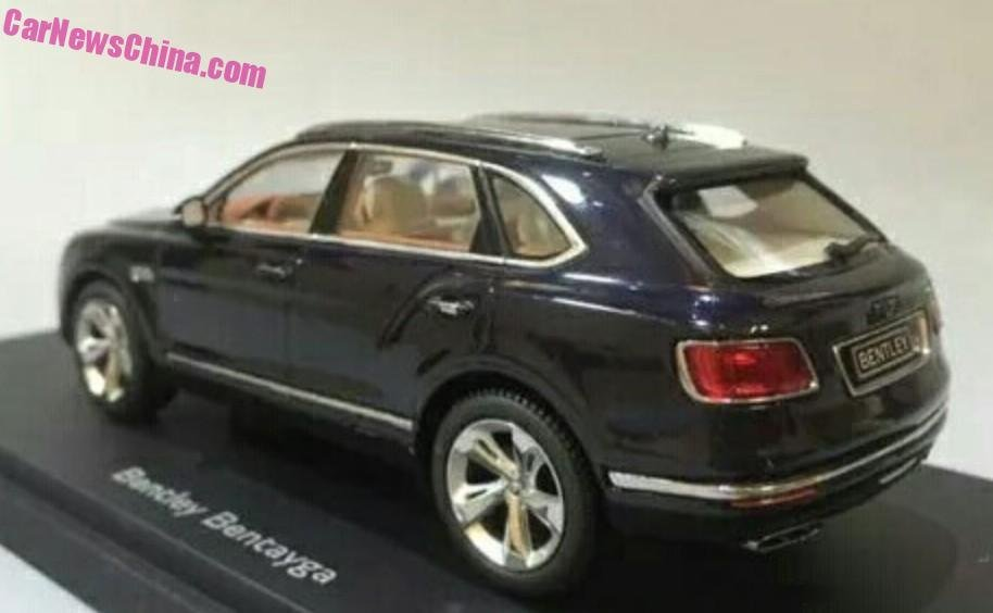 Bentley Bentayga model w skali 1:18