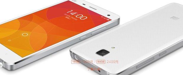 Mi4 - najnowszy smartfon Xiaomi