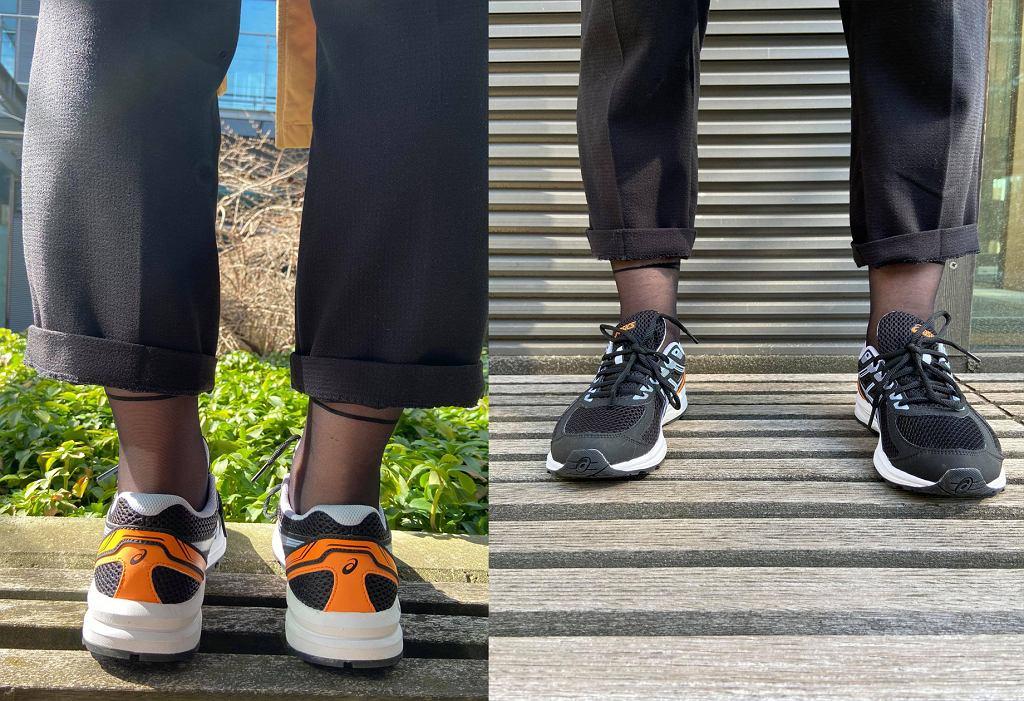 Buty Asics Gel-Braid ciekawie prezentują się też jako sneakersy do casualowej stylizacji