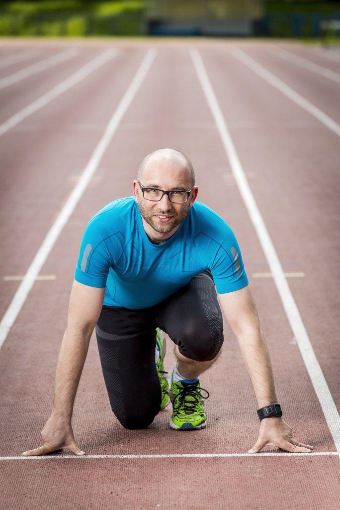 Wojciech Gęstwa - dyrektor 33. PKO Wrocław Maratonu