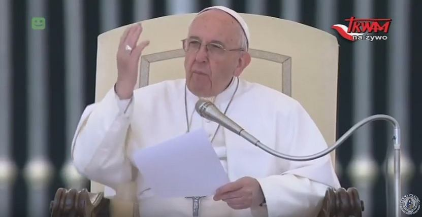 Papież Fanciszek przemówił do Polaków