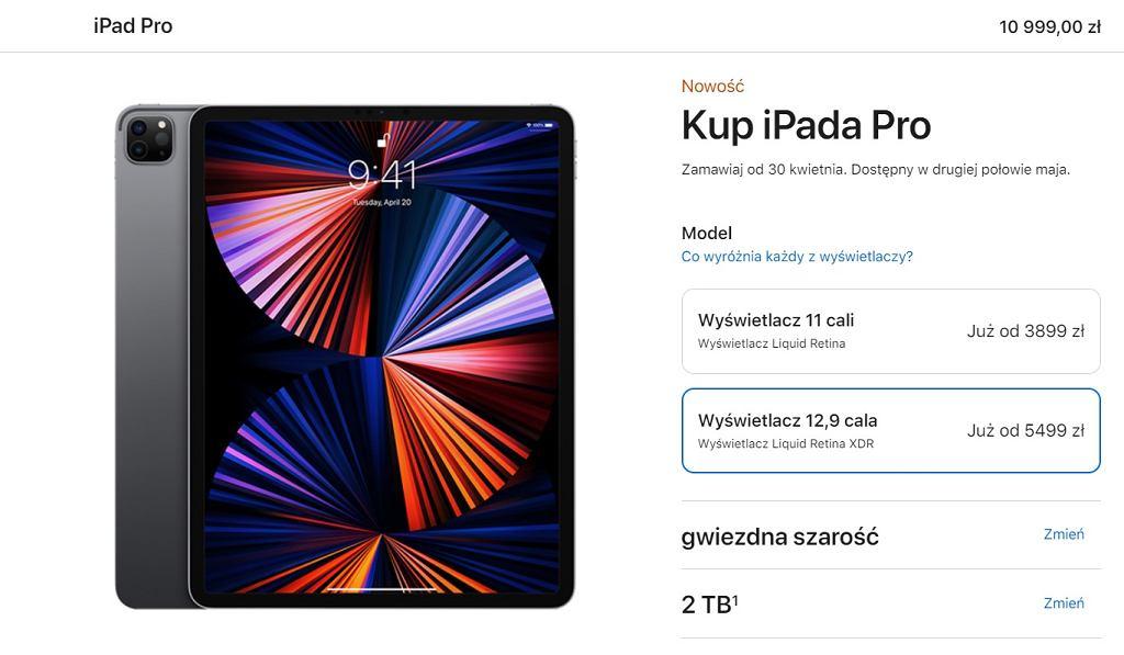 Nowy iPad Pro - ceny w Polsce