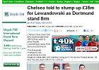 """Bundesliga. Lewandowski wart 35 milionów funtów? """"Daily Mail"""": Tyle chce Borussia"""