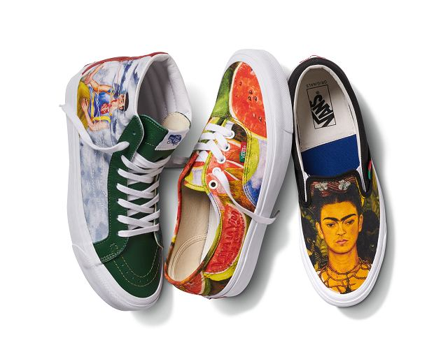 Vans x Frida Kahlo