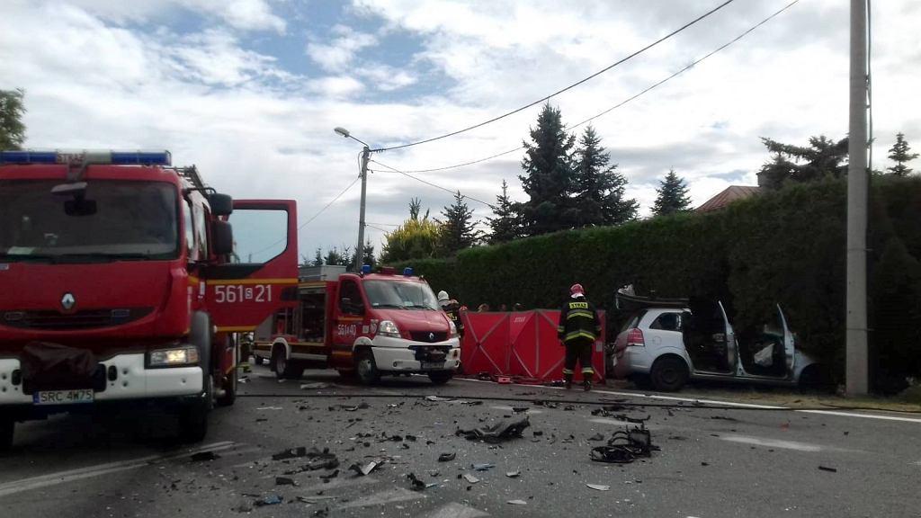 Śmiertelny wypadek w Raciborzu. Nie żyje 35-letni ojciec i 9-miesięczna dziewczynka